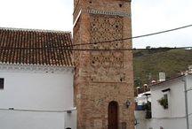 Pueblos de la Axarquia / Pueblos de la Axarquia en el entorno de Hotel Posada la Plaza en Canillas de Albaida