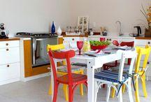 Decoração: Cozinha - Kitchen / A Cozinha é um dos ambientes da casa mais usados, confira lindas inspirações de cozinhas para amar. Visite www.thyaraporto.com/blog e confira ótimas dicas para decorar a sua casa.