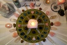 Crystal Grids / Check out some of the crystal grids I have made. Aren't they gorgeous?