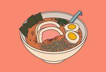 Vector Illustration; Food