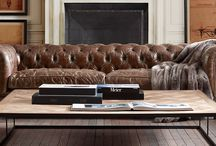 Chesterfield sofa / by Laurie Holland