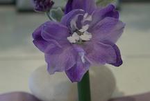 Purple wedding collection / Purple bouquet, boutonnieres, and arrangements ideas