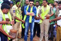 Akhil Akkineni Joins Telangana Haritha Haram Project