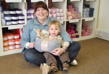 Shop interior / Little Lamb Wool interior photos