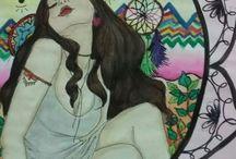Inktober 2016 - Witchy Art Challenge - Paulline Barbosa - interrompido