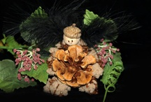 Faerie Princes / These little Faerie Princes are the perfect addition to our Flower Petal Faeries.