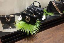 The bags at display