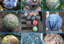 декоративные шары из цемента