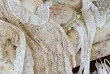 Ruffles & Lace / by The Roseberry Cottage ~ Carol
