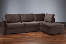 LoveSac Sactionals Four Cushion Chaise Sectional  / by Susan Marina Lane