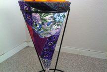 Alice Pandora s  hobbyarbejder / Mine malerier tekstilarbejder og andre hobbyer