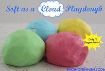 Playdough and Crafts