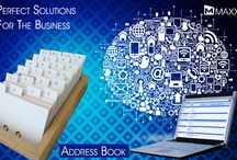 Address Book / Address Book is used to manage your contact list with address details. MAXX provides this feature for the users to take multiple label print of contact list that are stored in the account master... http://maxxerp.blogspot.in/2013/09/maxx-perfect-solution-for-business.html