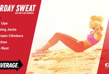 Saturday Sweat / These quick routines aresure to make you sweat! / by GNC