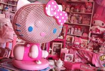 hello kitty / Dedicated to my girl 'Hello Kitty' and all that is nostalgic about this cartoon character! DIY + Style