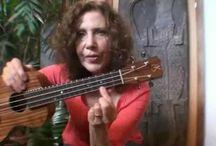 Pax's ukulele lesson