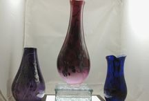Fireworks Glass Studios / Handblown Glass Made in USA Michigan glass artist