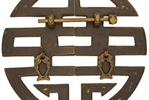 Asian-Inspired Decorative Hardware / by PagodaRoad