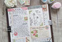 Travelers Notebook Journaling