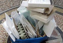 On recycle! / activités avec carton, papier, polystyrène, boîte à oeufs, etc.