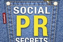 Social PR Secrets *´¨*´¨a book by Lisa Buyer / http://bit.ly/1gsCnph Every chapter is packed with insider tips, tactics, and systems, presented in tweet-sized bites for simplicity and easy reading or sharing.  / by Lisa Buyer