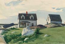 Edward Hopper / Landscapes