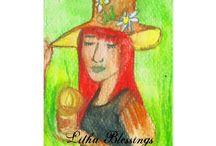 Pagan Greetings by Fairychamber / Art and illustrations by Niina Niskanen.