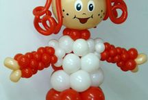 palloncini personaggi fragolina