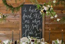 Beyaz Rustik Düğün