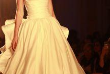 Suknia gładka balowa