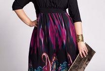 Curvy winter fashion