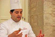 Ristorante Convivio Ruvo di Puglia / Lo chef Cappelluti Luca al CookingClass Costa dei trulli  http://www.costadeitrullicookingclass.it/