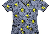 Cool Characters / Comfy scrubs in character prints to make your workday more fun.