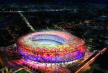 Soccer stadium around the world