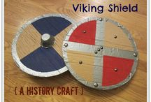 Vikings Crafts / Fun Viking themed crafts for kids. Bring history to life by being creative! Fun activities for kids and adults alike!