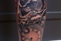 Tatuajes pierna
