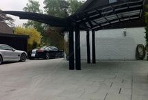 Sunshield Shelter Aluminum carport / Our carport of this kind is constructed by aluminum alloys as the main framework for the stands and the roof, due to indeformable and firm features of these main profiles, our carports could be used for a long period of time.