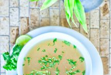 Soups / So delicious you wish you could swim in them, Paleo, SCD, FODMAP and GAPS friendly...