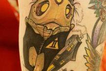 Manuel Mathow / Incríveis tatuagens