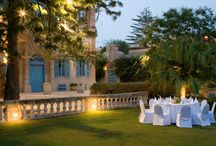 Weddings in Malta - Classical Villa / Our Classical Villa wedding venue is located in the heart of St Julian's on the outskirts of Paceville on a hillside overlooking St. George's Bay. The spacious gardens of the villa provide a blank canvas for your wedding allowing you to create your dream wedding vision from scratch.