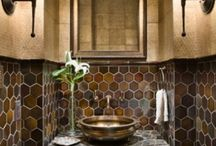 Bathrooms / inspiration for small spaces