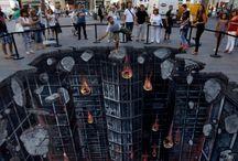 3D sreet art