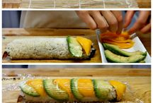 Video on how make sushi