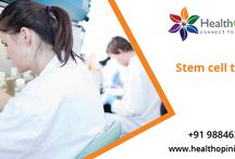 Stem cell treatment / Stem cell therapy can replaces the repaired cells or tissues. Contact Healthopinion services for stem cell treatments in india with affordable cost.