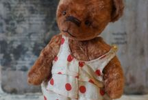 OOAK art teddy