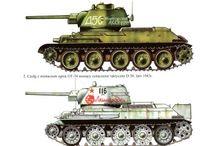 T34 tank variants