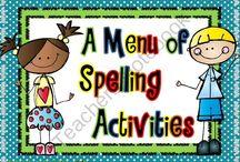 Spelling / by Kristine Reifsnyder