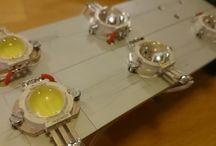 Drone SAR Led lights 100w / 10x10w led lights with 90 degree light angle.