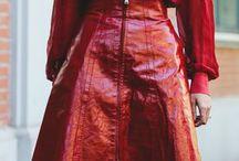 Así se usa el rojo / Street style / Tendencias/ Rojo