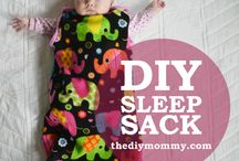 Easy baby sleep sack